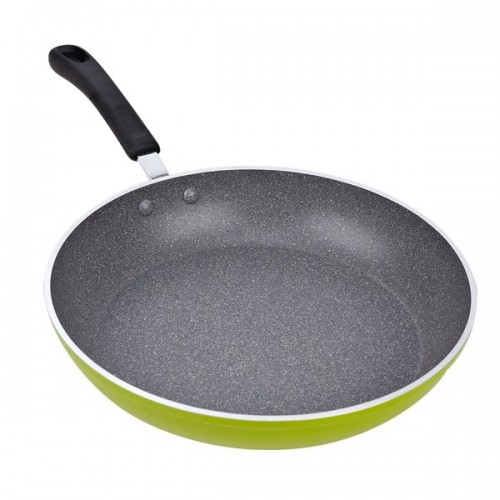 12-Inch Green Non-stick Induction Compatible Frying and Saute Pan