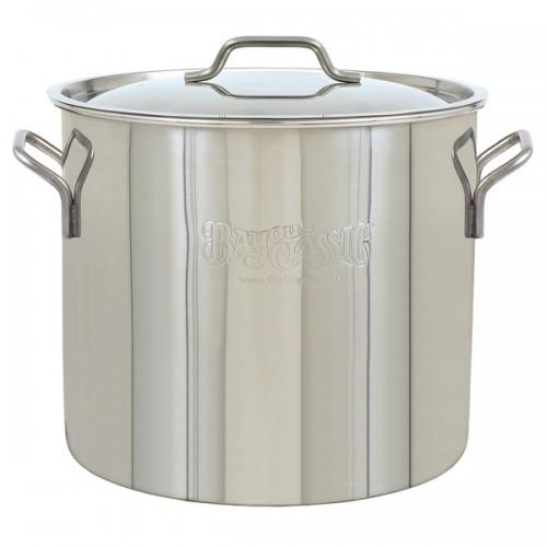 30-quart Brew Kettle Stainless Steel Stockpot