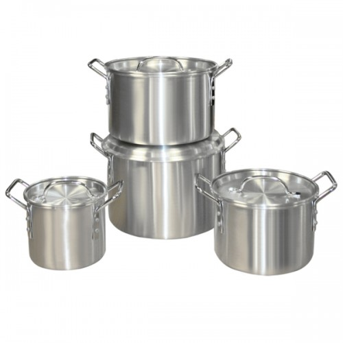 4-piece Aluminum Steamer Set