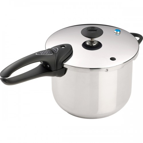 6-quart Stainless Steel Deluxe Pressure Cooker