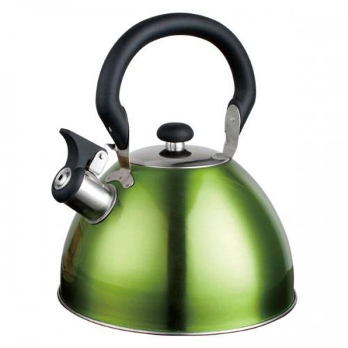 Alpine Cuisine Green Whistling Tea Kettle