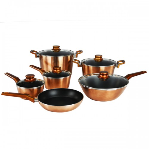 Aluminum 11-piece Nonstick Cookware Set
