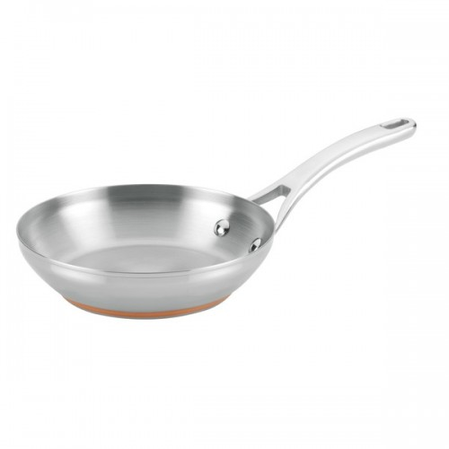 Anolon Nouvelle Copper Stainless Steel 8-inch French Skillet