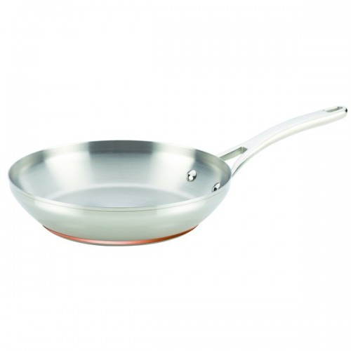 Anolon Nouvelle Copper Stainless Steel 10 1/2-inch French Skillet