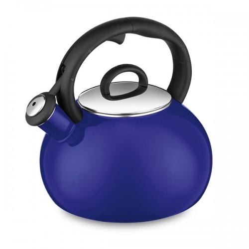 Aura Enamel-On-Steel Stovetop Tea Kettle