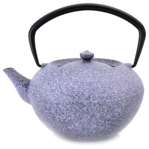 BergHOFF Studio 1.32-quart Purple Cast Iron Teapot