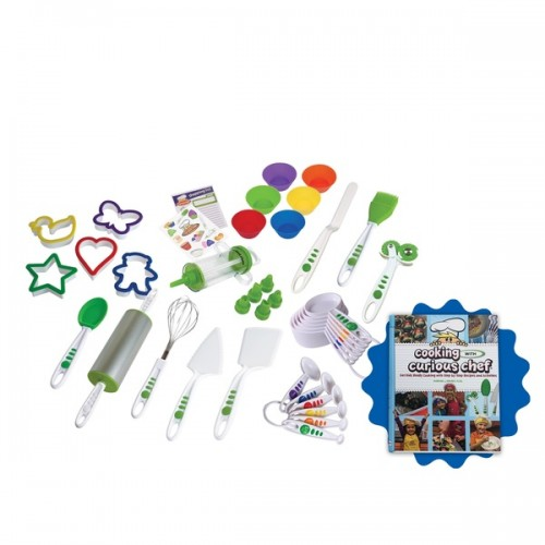 Curious Chef Silicone 38-piece Cookie and Cupcake Bundle